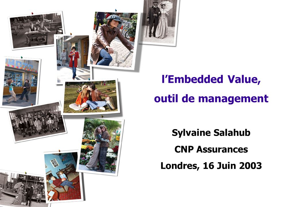 l'Embedded Value, outil de management