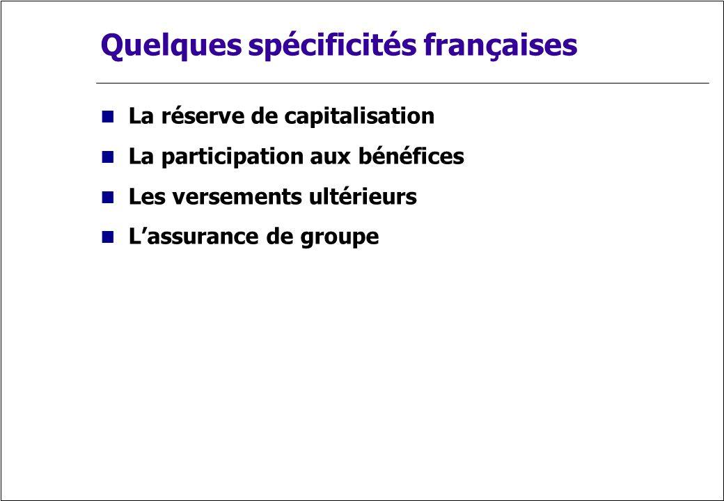 Quelques spécificités françaises