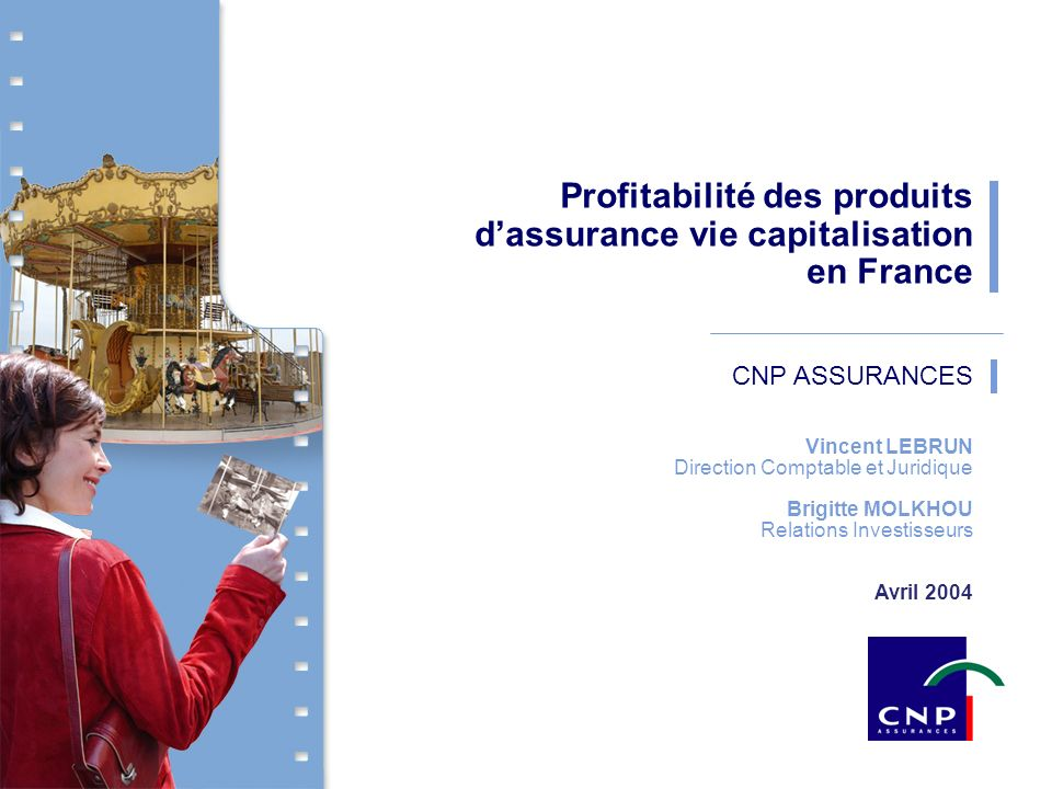 Profitabilité des produits d'assurance vie capitalisation en France