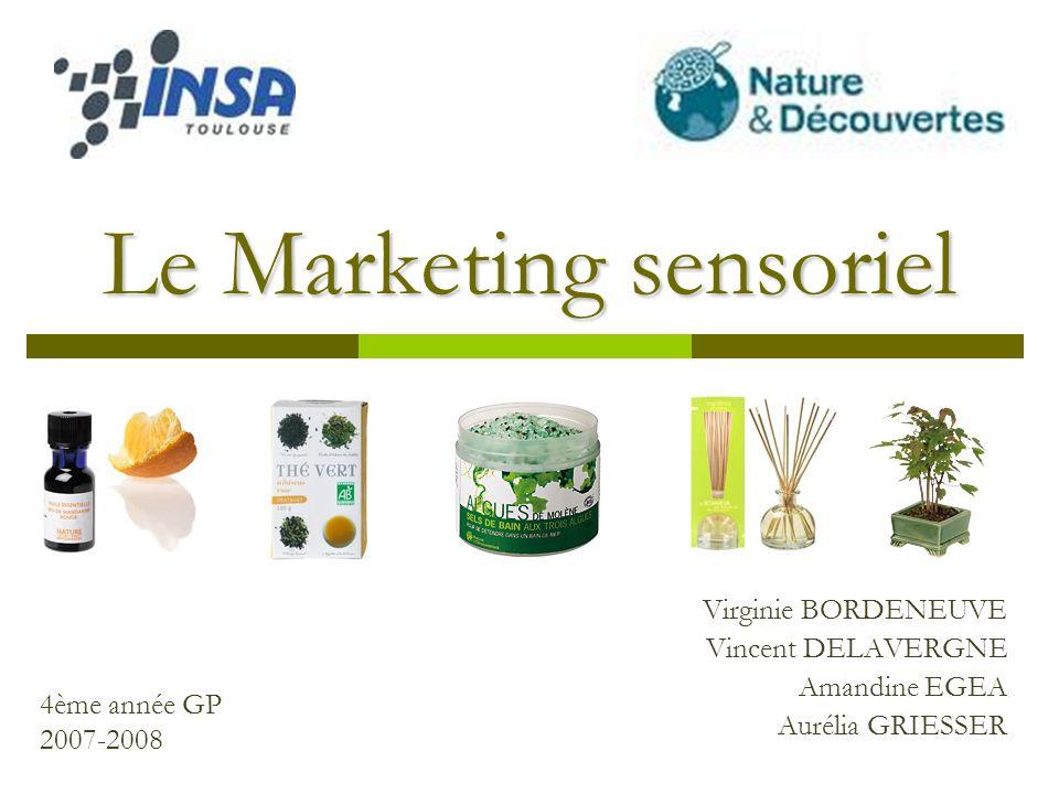 Le Marketing sensoriel
