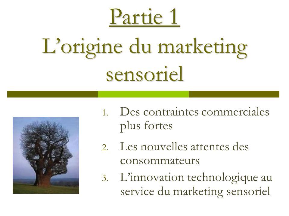 L'origine du marketing sensoriel