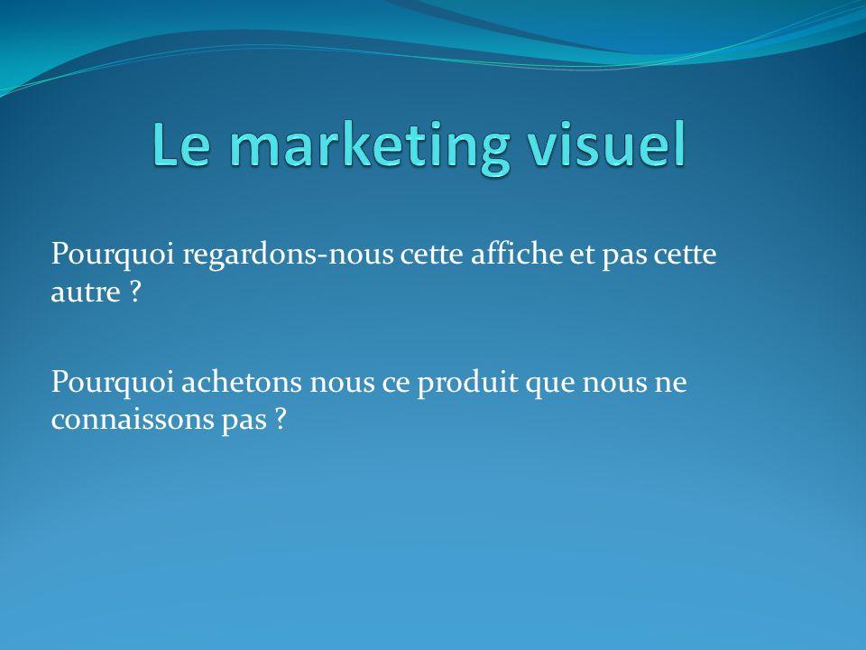 Le marketing visuel Pourquoi regardons-nous cette affiche et pas cette autre .