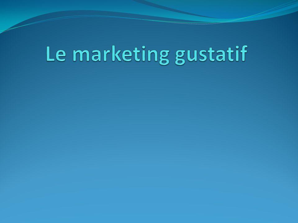Le marketing gustatif