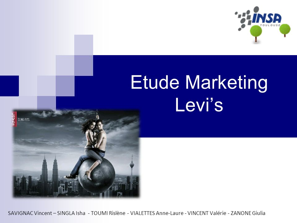 Etude Marketing Levi's
