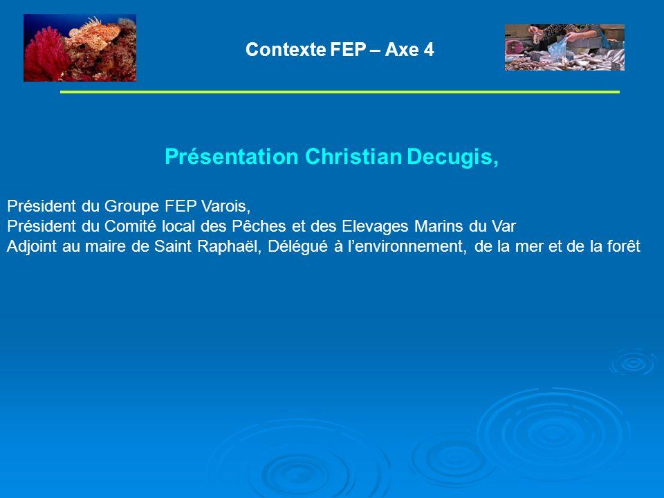 Présentation Christian Decugis,