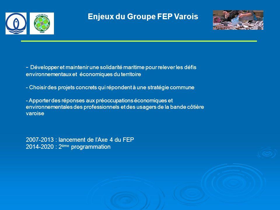 Enjeux du Groupe FEP Varois