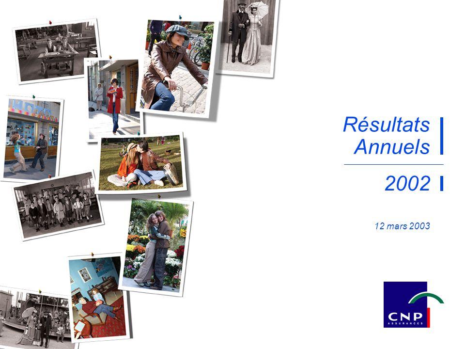 Résultats Annuels 2002 12 mars 2003 mars 2003