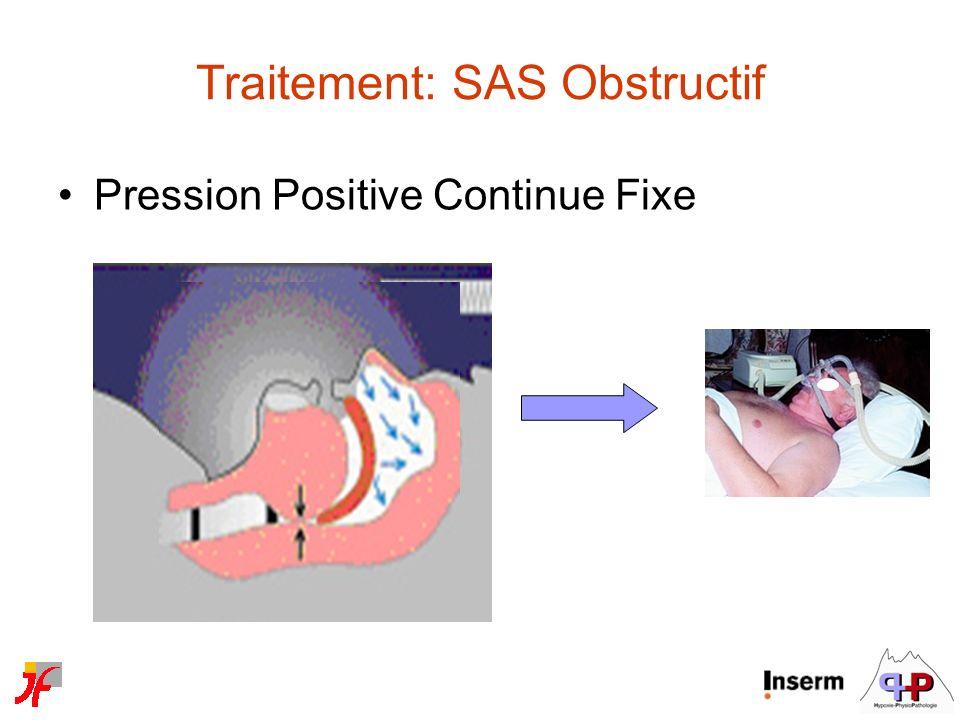 Traitement: SAS Obstructif
