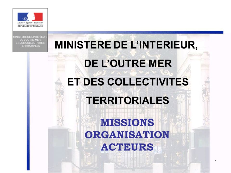 Ministere de l interieur ppt video online t l charger for Interieur ministere