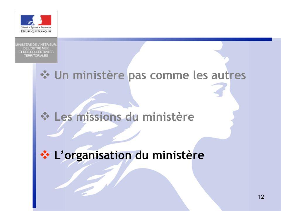  Un ministère pas comme les autres