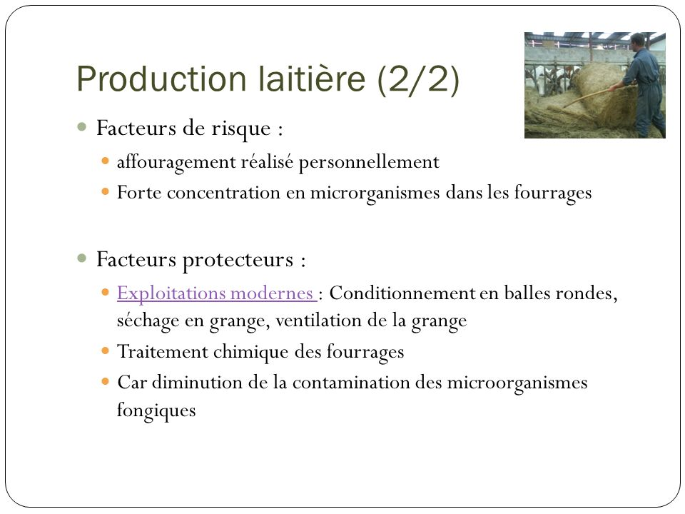 Production laitière (2/2)