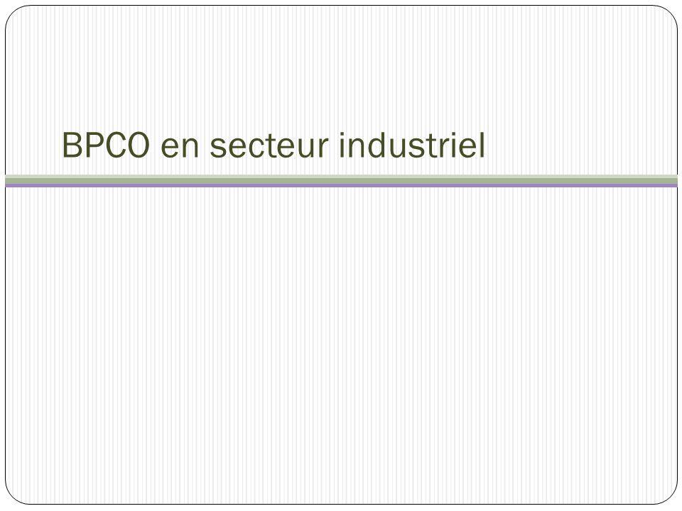 BPCO en secteur industriel