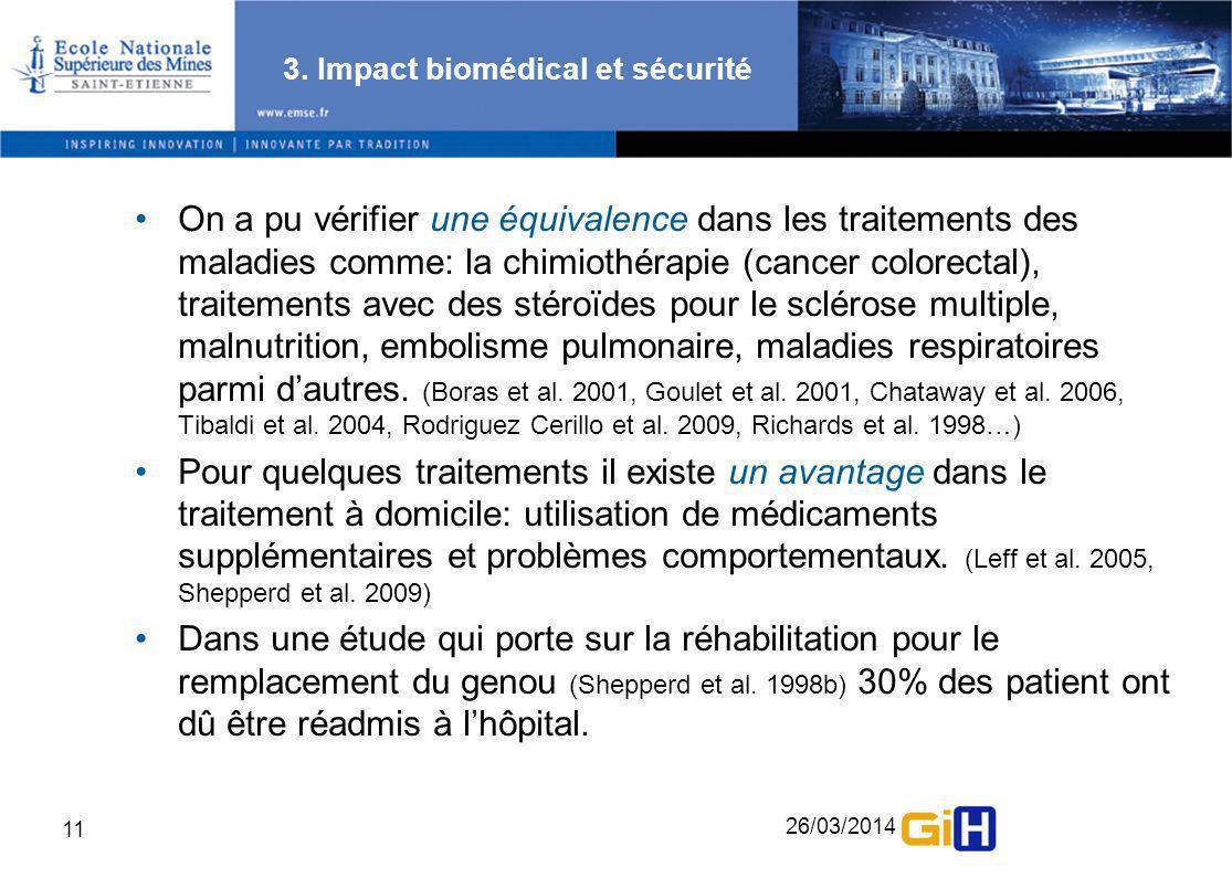 3. Impact biomédical et sécurité