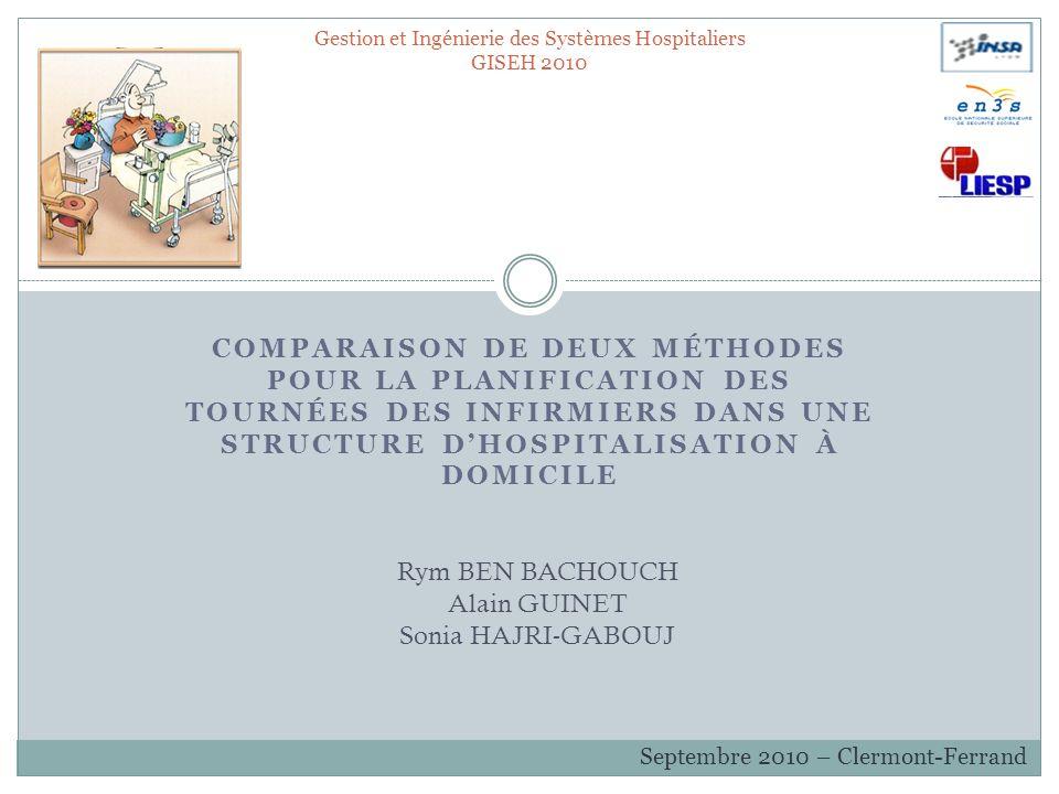 Gestion et Ingénierie des Systèmes Hospitaliers GISEH 2010