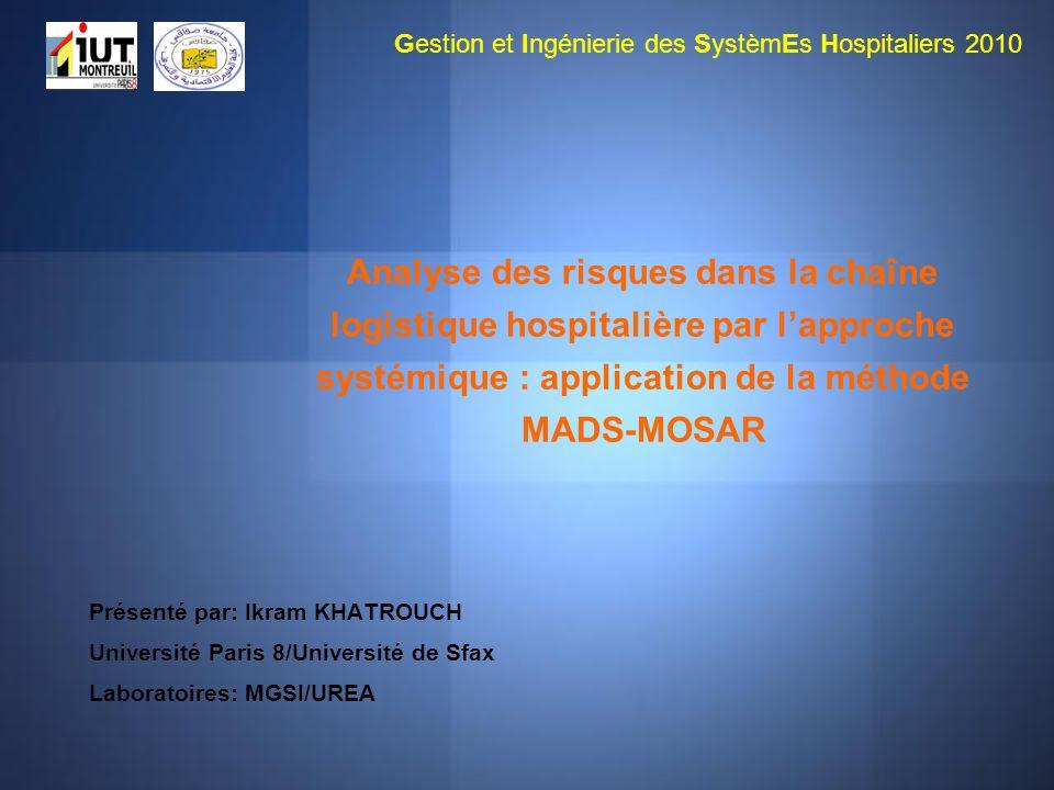 Gestion et Ingénierie des SystèmEs Hospitaliers 2010