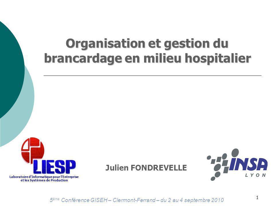 Organisation et gestion du brancardage en milieu hospitalier