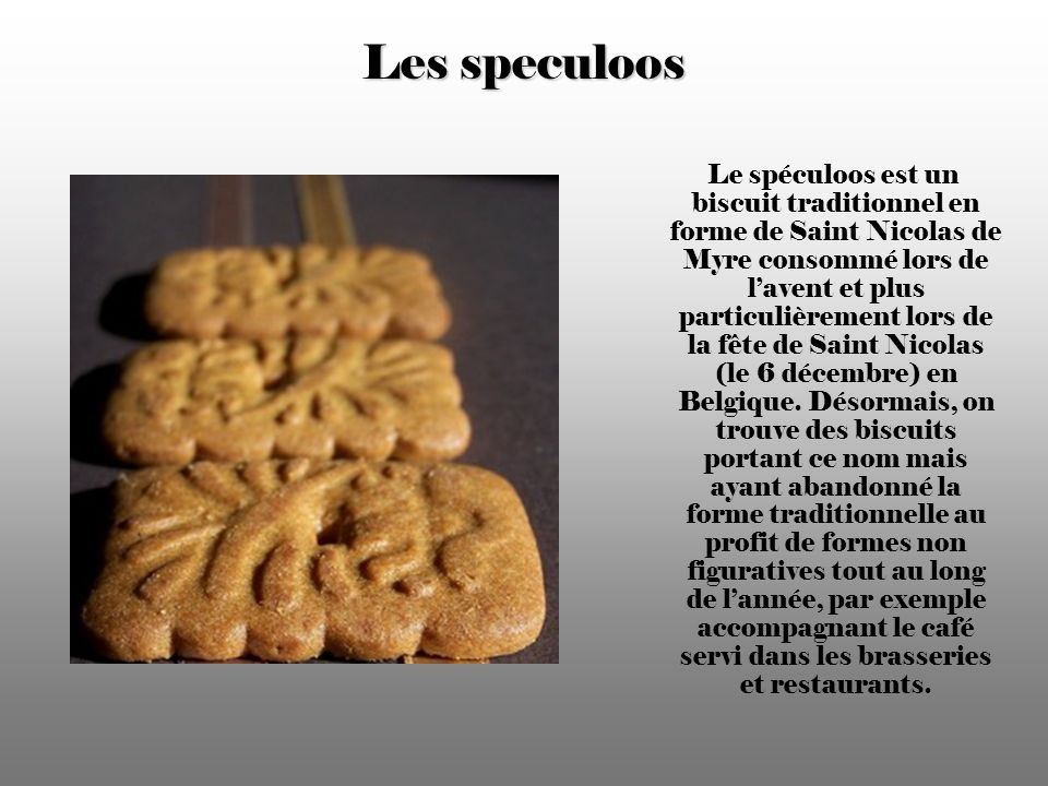 Les speculoos