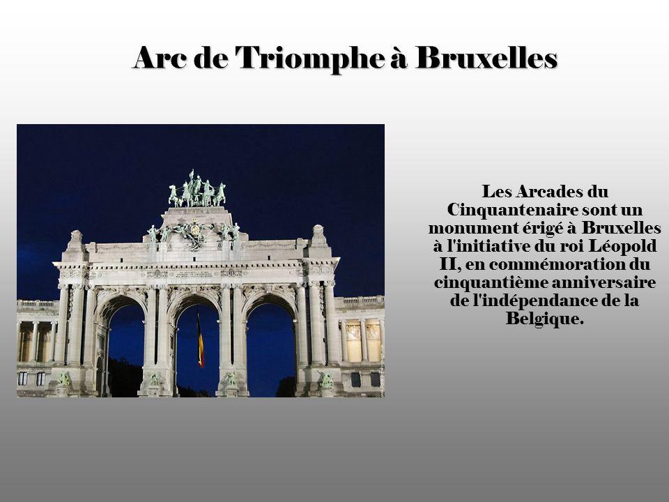 Arc de Triomphe à Bruxelles