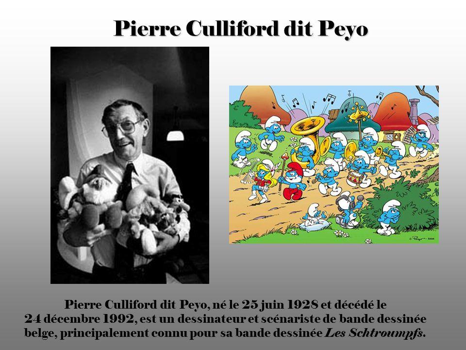 Pierre Culliford dit Peyo