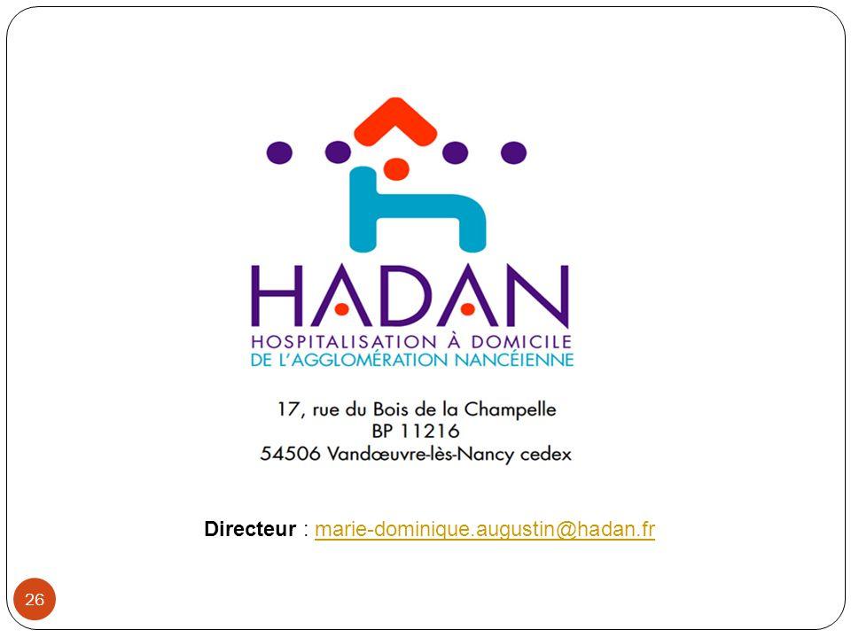 Directeur : marie-dominique.augustin@hadan.fr