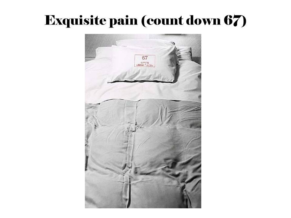 Exquisite pain (count down 67)