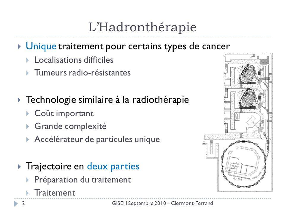 L'Hadronthérapie Unique traitement pour certains types de cancer