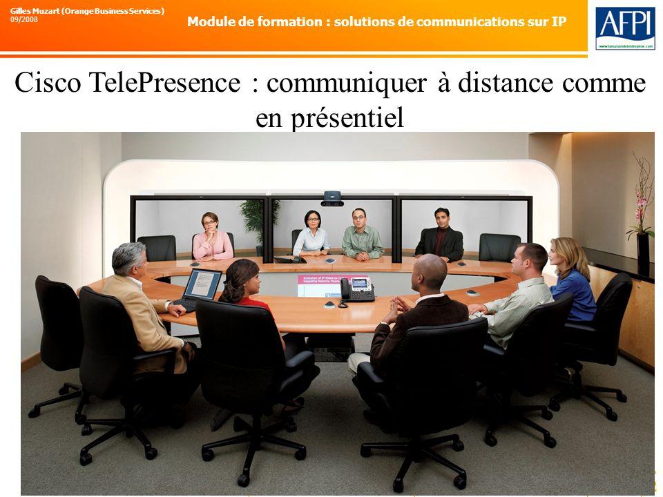 Cisco TelePresence : communiquer à distance comme en présentiel