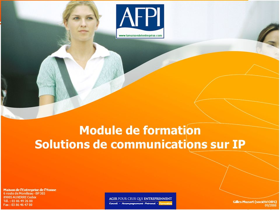 Solutions de communications sur IP