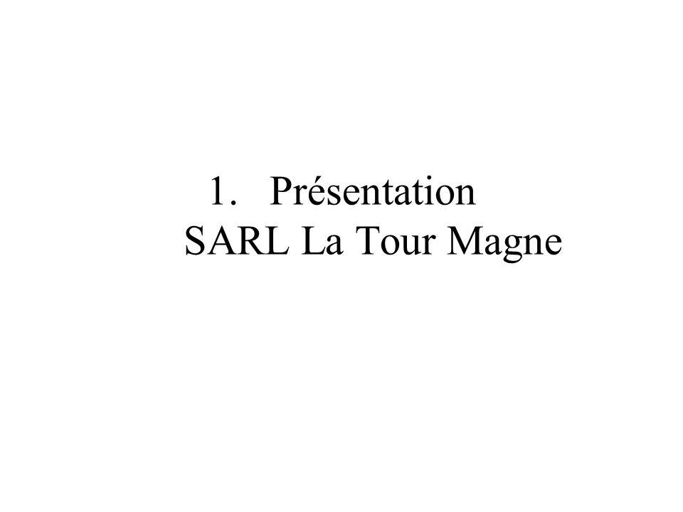 Présentation SARL La Tour Magne