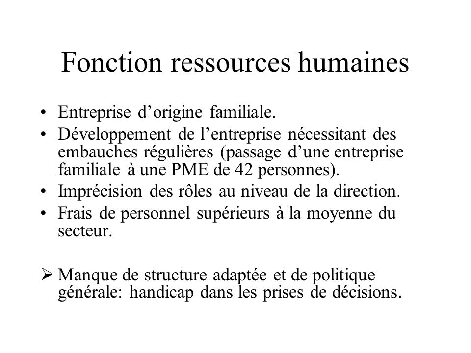 Fonction ressources humaines