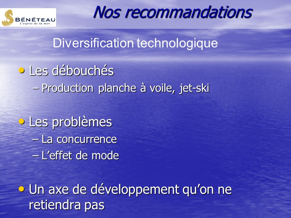 Diversification technologique