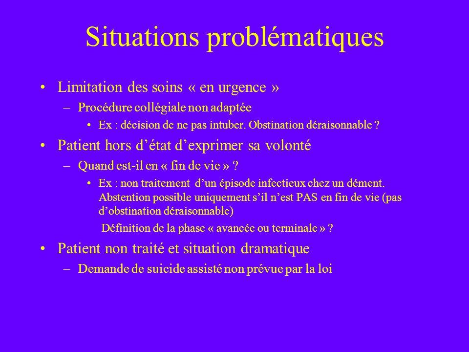 Situations problématiques
