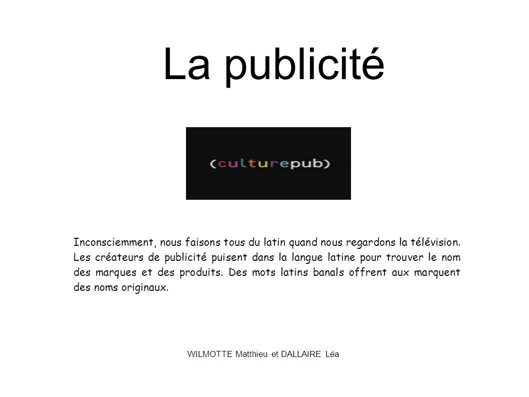 WILMOTTE Matthieu et DALLAIRE Léa