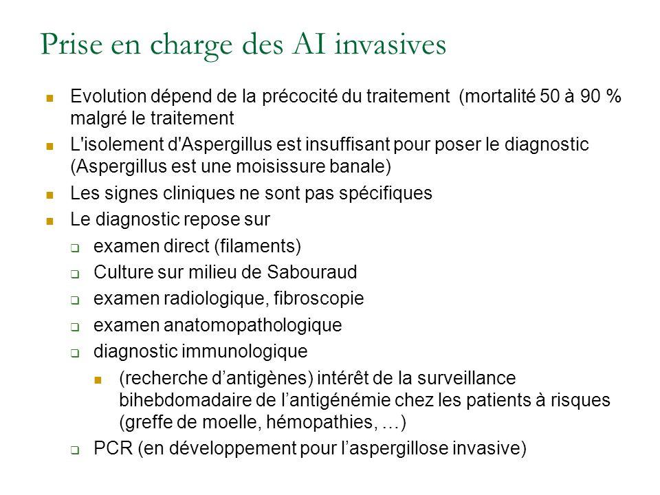 Prise en charge des AI invasives