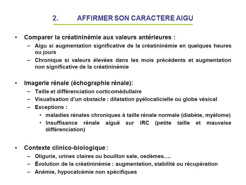 2. AFFIRMER SON CARACTERE AIGU