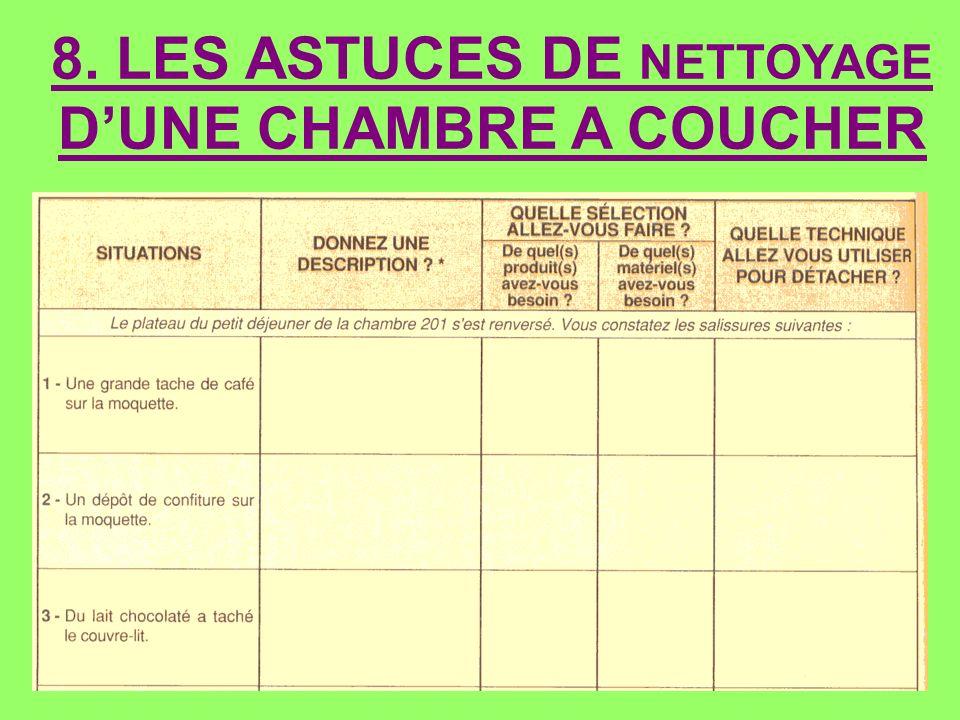 8. LES ASTUCES DE NETTOYAGE D'UNE CHAMBRE A COUCHER