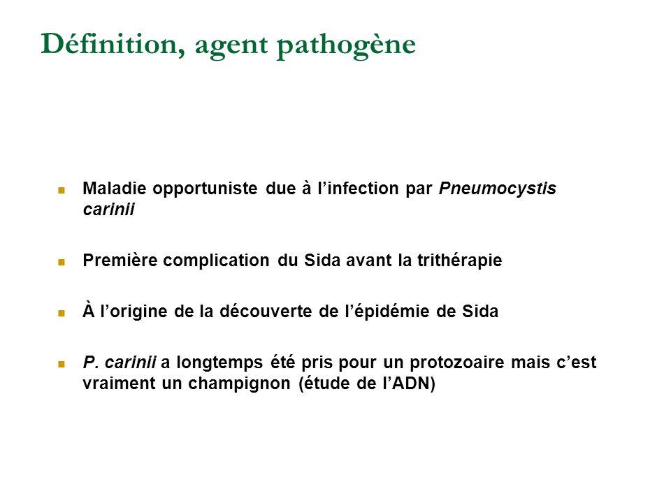 Définition, agent pathogène