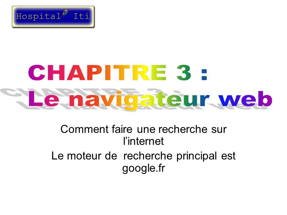 CHAPITRE 3 : Le navigateur web