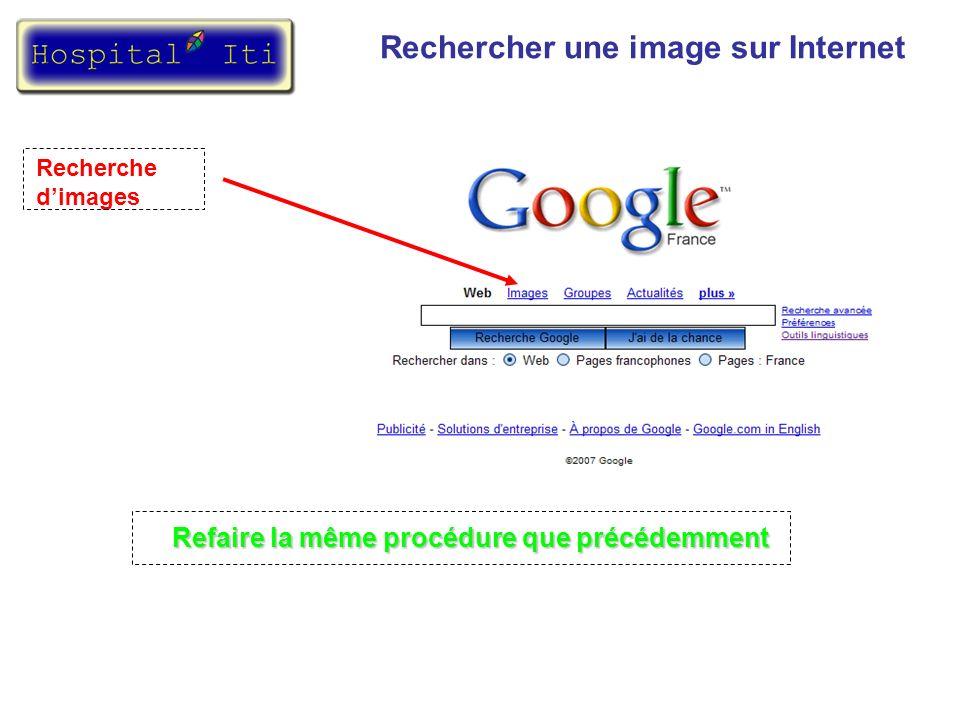 Rechercher une image sur Internet