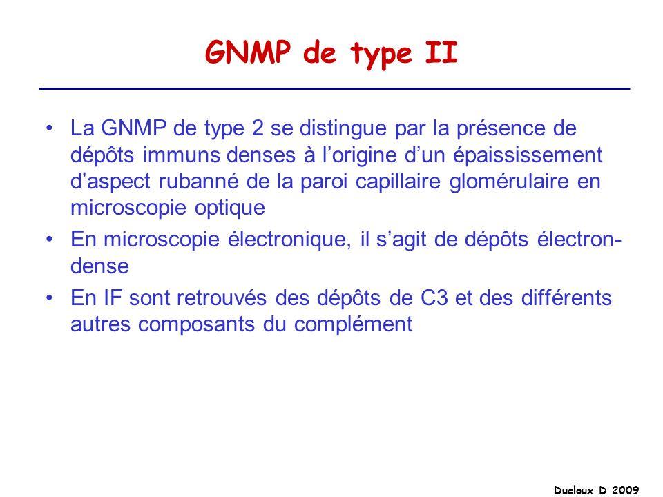 GNMP de type II