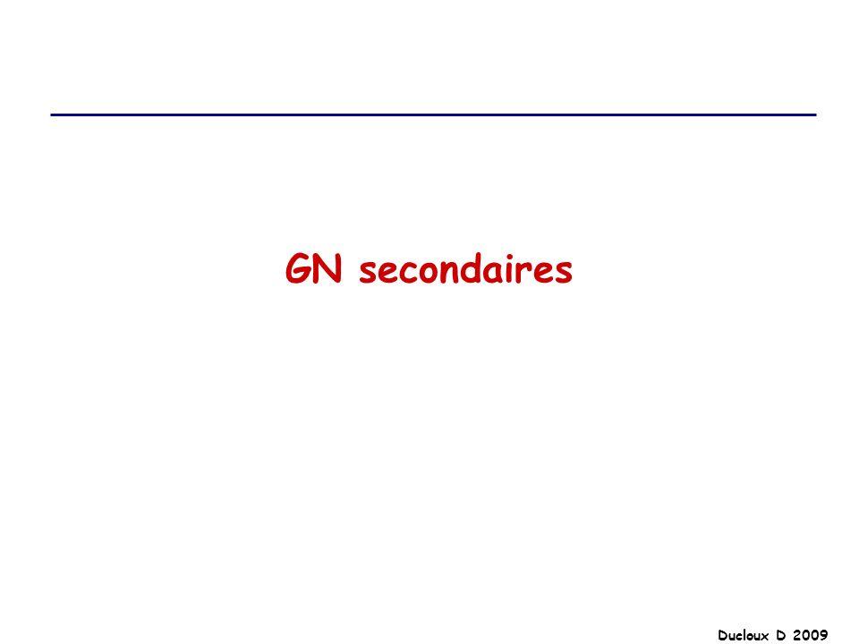 GN secondaires