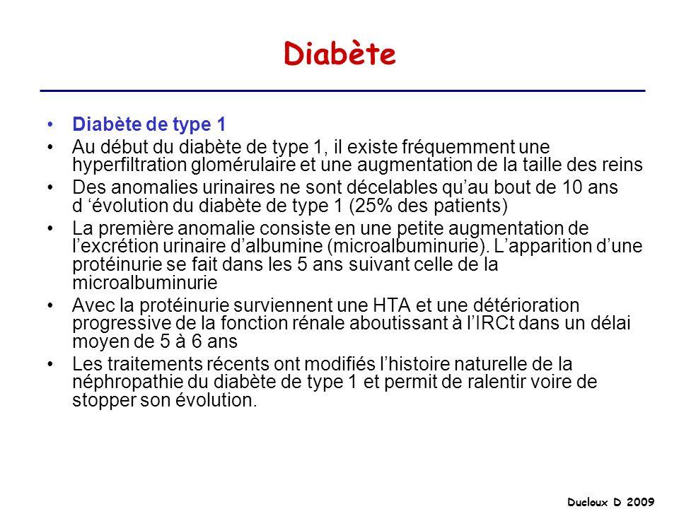 Diabète Diabète de type 1