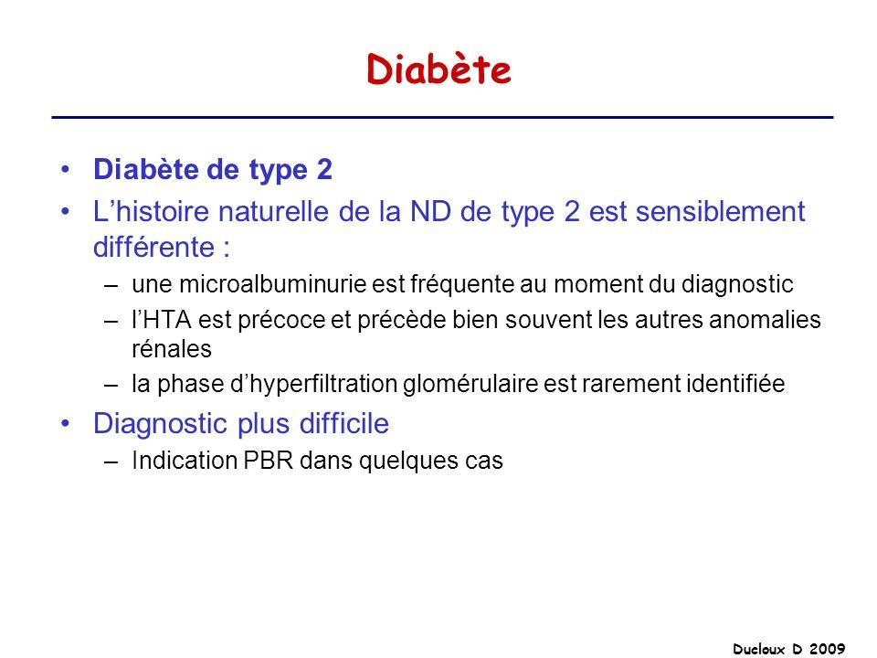Diabète Diabète de type 2