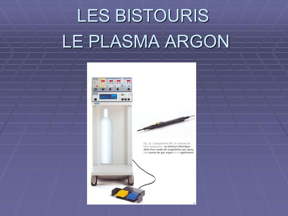 LE PLASMA ARGON
