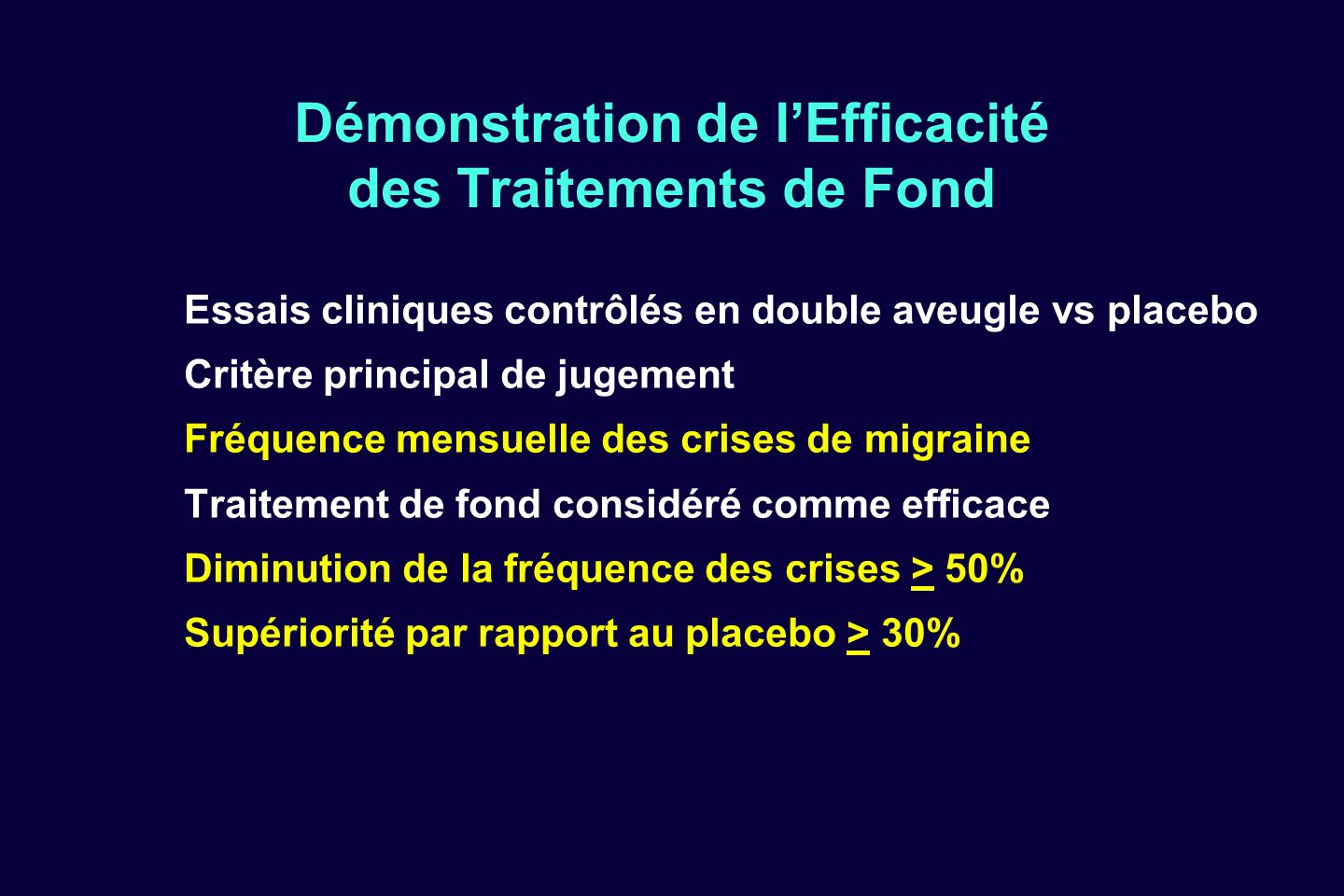 Traitement de la migraine - ppt video online télécharger