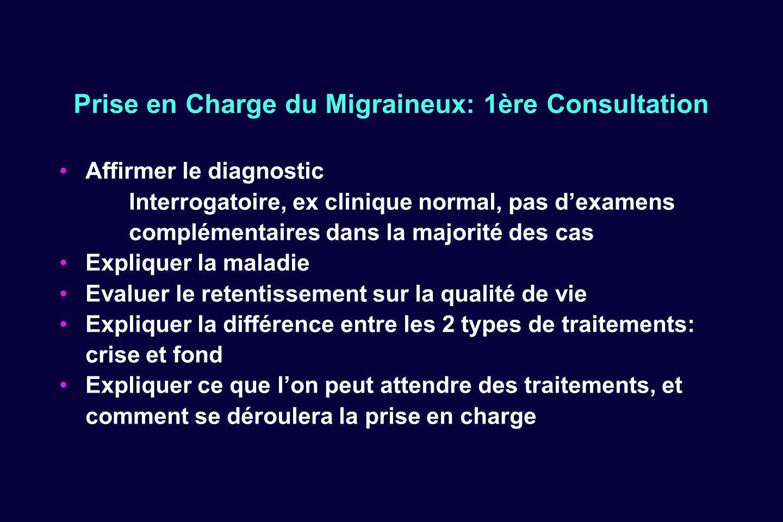 Prise en Charge du Migraineux: 1ère Consultation