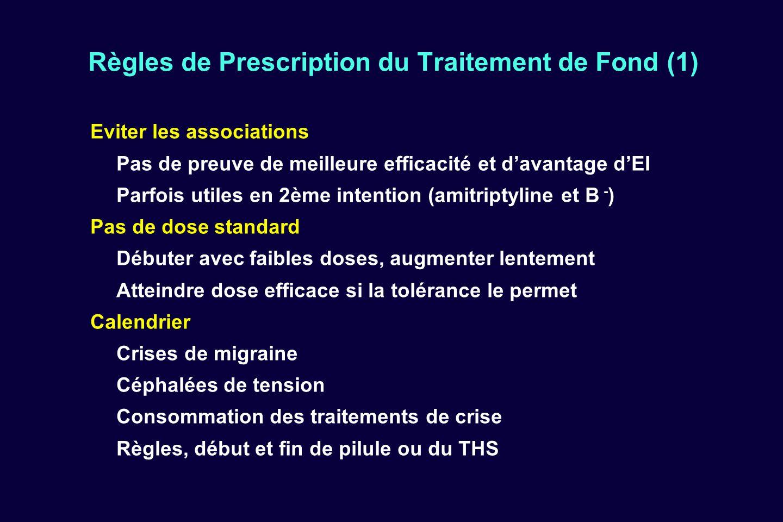 Traitement de la migraine ppt video online t l charger - Traitement pour eviter les fausses couches ...