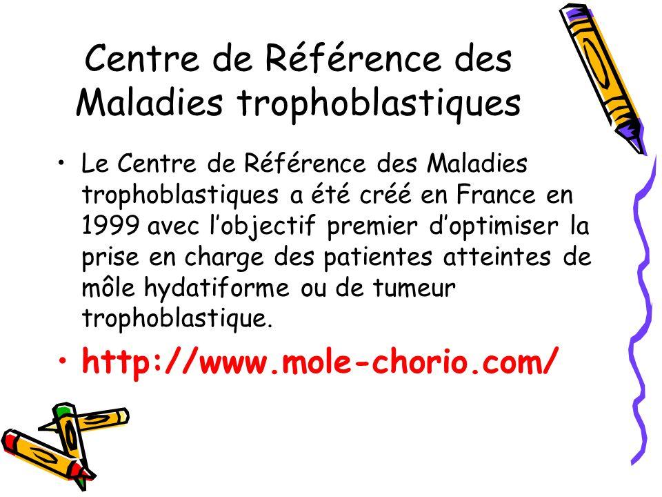 Centre de Référence des Maladies trophoblastiques