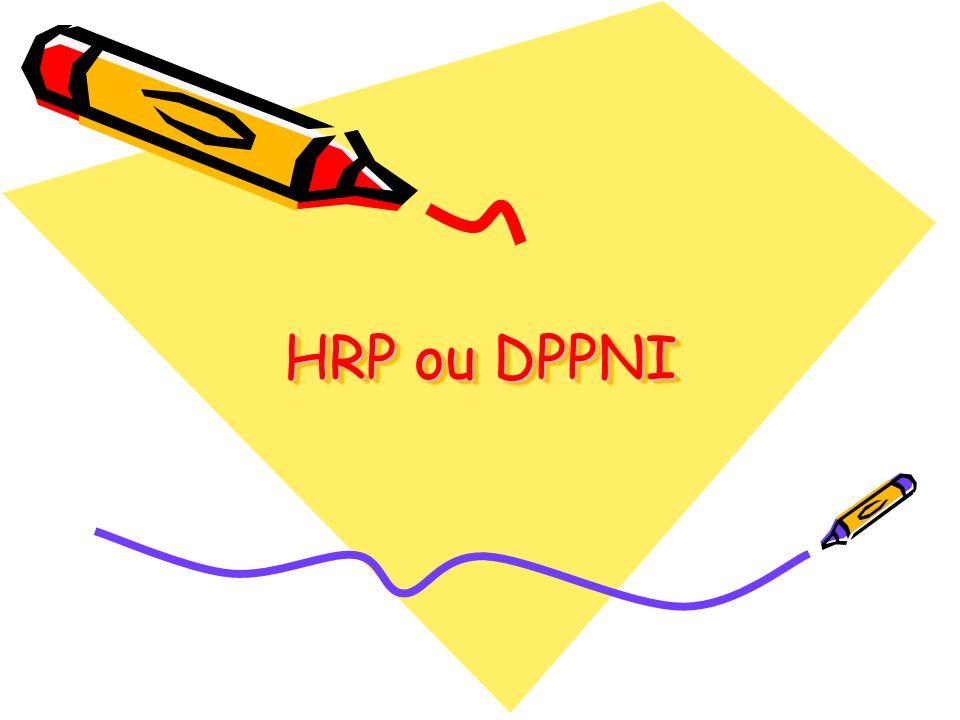 HRP ou DPPNI