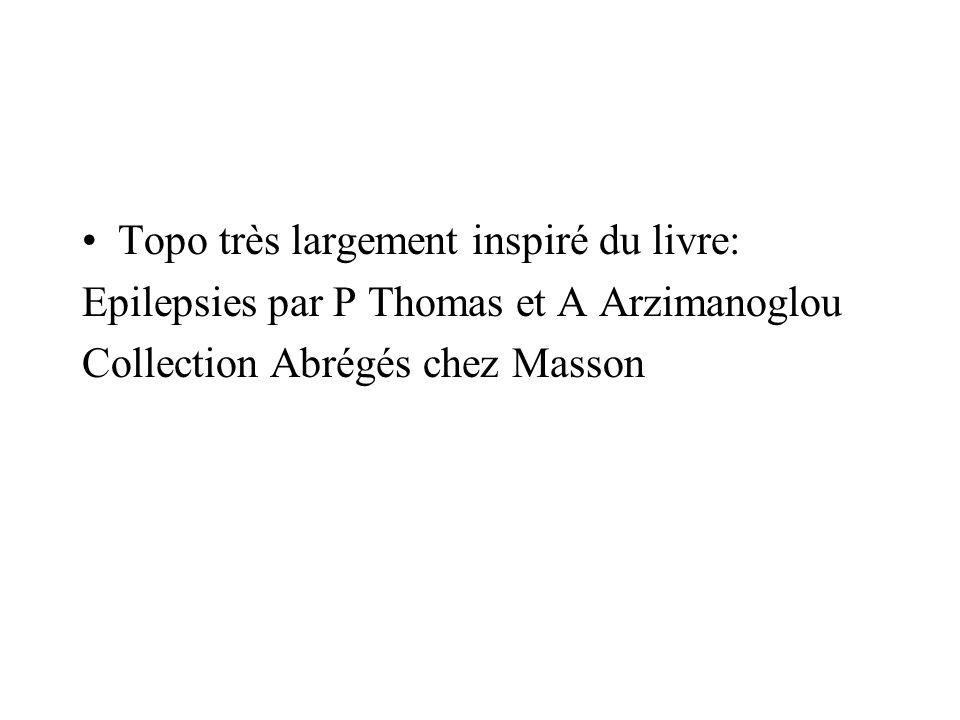 Topo très largement inspiré du livre: